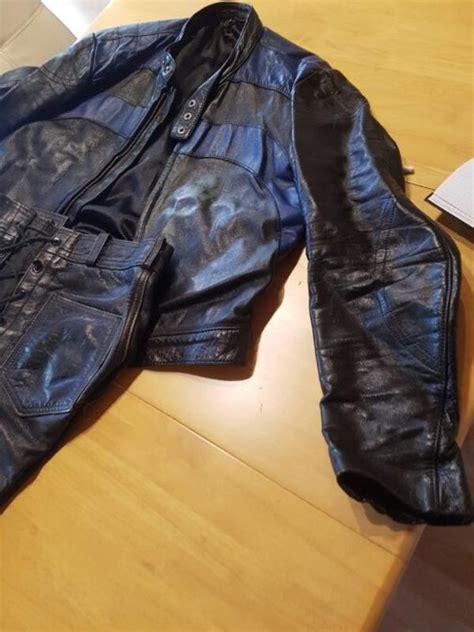 Motorrad Lederhose Gebraucht by Harro Lederjacke Kaufen Gebraucht Und G 252 Nstig