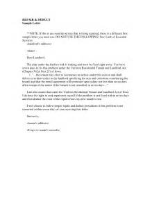 best photos of tenant notice letter for repairs tenant