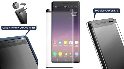 Tempered Glass R 69 Samsung Note 3 Note 4 Note 5 galaxy note 8 best galaxy note 8 tempered glass screen protector from encased review
