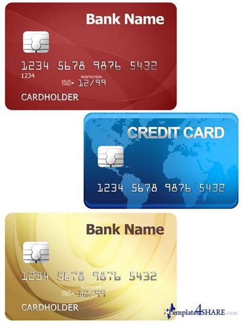 Credit Template For Photoshop Credit Cards Psd Template 187 Templates4share Free Web Templates Themes And Graphic For