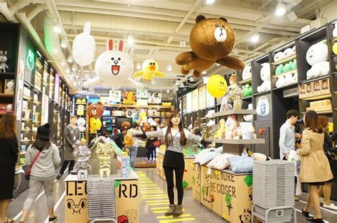 line store line friends store cafe the cutest messenger characters