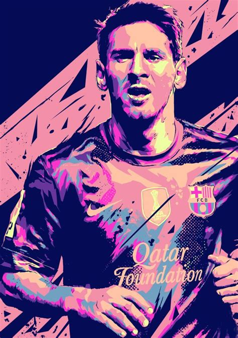 Football Artwork Messi 1 1000 images about football impressions on