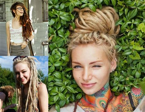 Hairstyles With Dreads by Dreadlocks Styles For White Www Pixshark