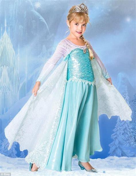 Princess Kostum Elsa Frozen disney s elsa dress from frozen sells for 1 000 on ebay daily mail