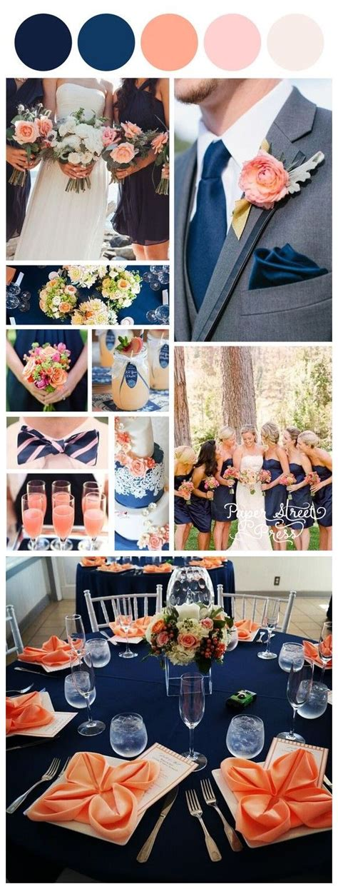 peach navy blue nigerian 25 best ideas about navy peach wedding on pinterest