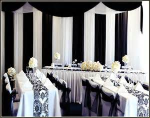 Decorating Black And White 35 Black And White Wedding Table Settings Table