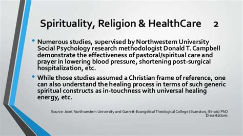 Dissertations On Christian Healing by Health And Spirituality