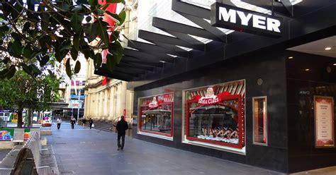 melbourne fresh daily myer melbourne christmas windows