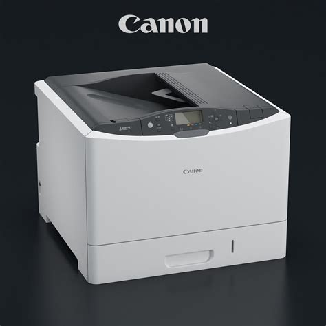 canon model printer canon i sensys lbp7780cx 3d model max obj mtl