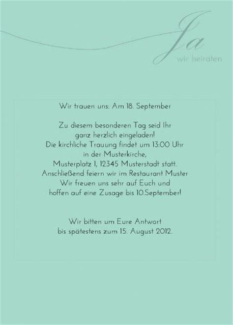 Einladung Zur Hochzeitsfeier Nach Der Trauung by Die Perfekte Einladungskarte Zur Hochzeit So Geht