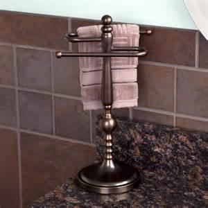 ridge shape countertop towel bar towel holders