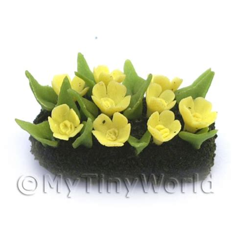 dolls house flowers dolls house miniature flowers and plants dolls house miniature small diy flower bed