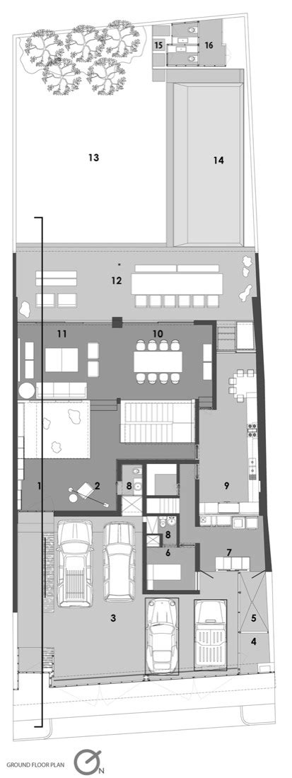casa fortuna floor plan gallery of casa ro el 237 as rizo arquitectos 17