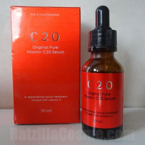 Serum Vitamin C 20 review ost c20 original vitamin c20 serum ratzillacosme