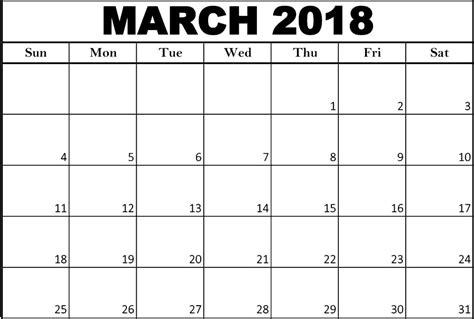 march 2018 calendar fillable calendar template letter cute march 2018 calendar calendar template letter format