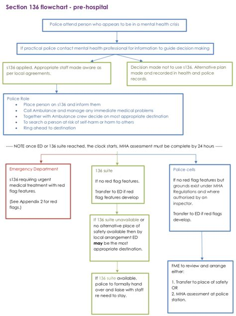 section 22 mental health a brief guide to s 136 for emergency departments ukafn org