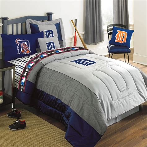 Detroit Tigers Comforter by Detroit Tigers Mlb Authentic Team Jersey Bedding