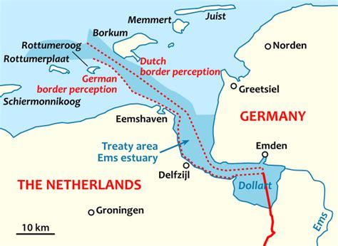 germany netherlands border map file german border dispute svg