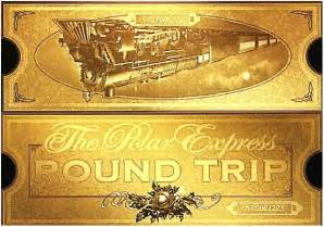 Billet impression gratuite and le polar express on pinterest