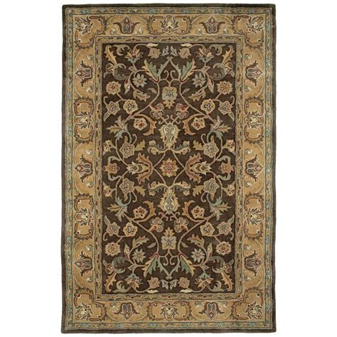 Kaleen Mystic William Chocolate 8 Ft X 10 Ft Area Rug 8 X 10 Ft Area Rugs