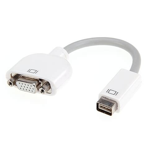 Apple Vga Adapter mini dvi port to vga adapter for apple imac monitor projector