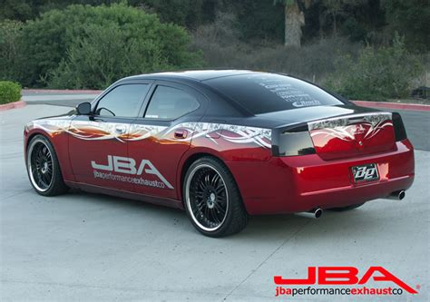 2006 dodge charger headers jba performance exhaust new product 2006 dodge charger