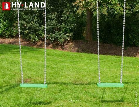 swinging h drewniana huśtawka z atestem hy land swing dombal
