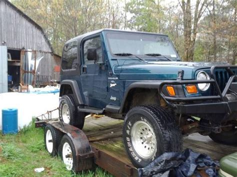 Jeep Huntsville Al New To Jeep World 97 Wrangler Sport Huntsville Al