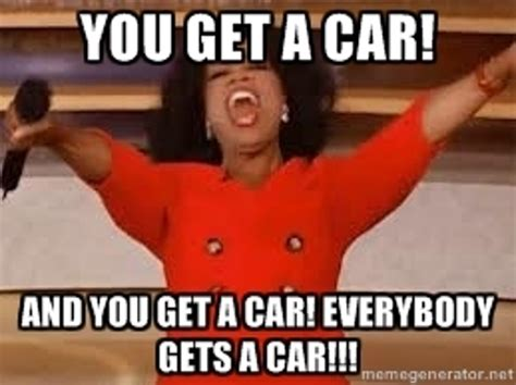 Oprah And You Get A Car by Oprah Explains Quot Everybody Gets A Car Quot 95 1 Wape