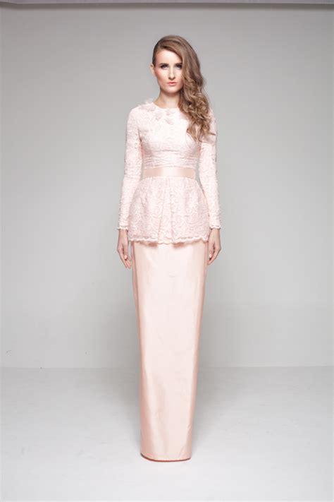 design dress nikah terkini nurita harith lebaran luxe 2013