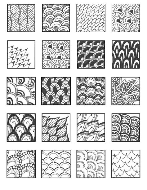 doodle pattern ideas 68 best зендудл emily perkins patterns images on