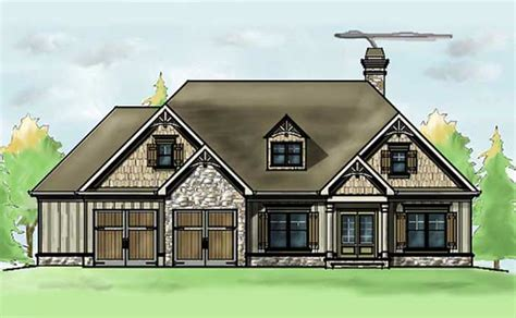 max house plans 1 story 3 bedroom house plan oak mountain cottage