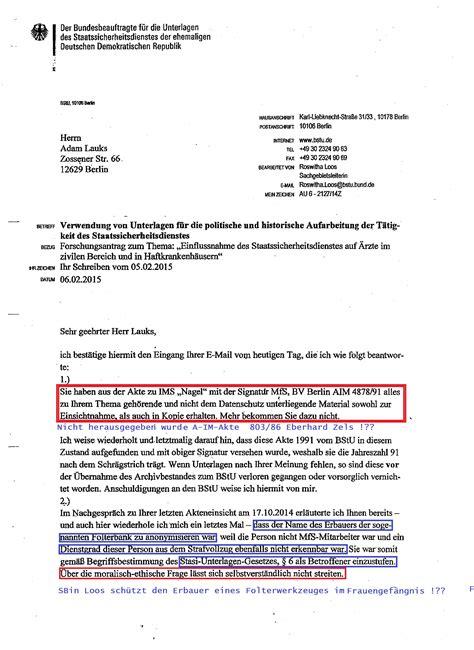 Lebenslauf In Aufsatzform Fur Die Bundespolizei Die Bundesbeauftragte F 252 R Datenschutz Und Informationsfreiheit An Bstu Jahn Beh 246 Rde