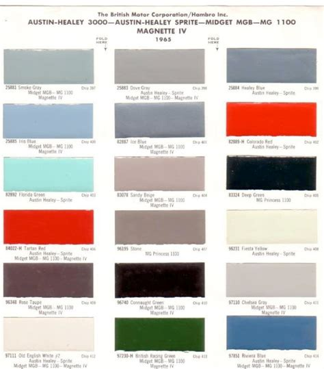 1000 images about bmc paint codes on classic mini paint colors and paint