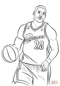 lebron coloring page free printable coloring pages