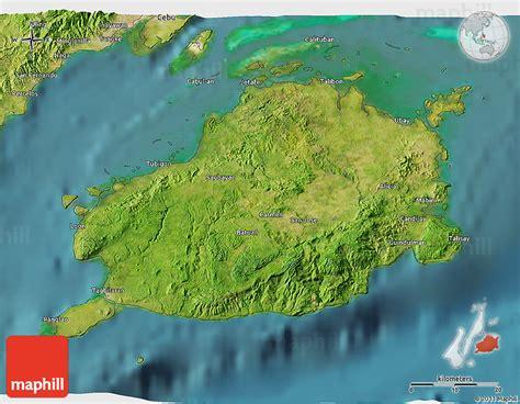 phil map via satellite satellite 3d map of bohol