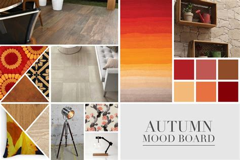 Latest Home Interior Design Photos Autumn Mood Board Why Not Tiles