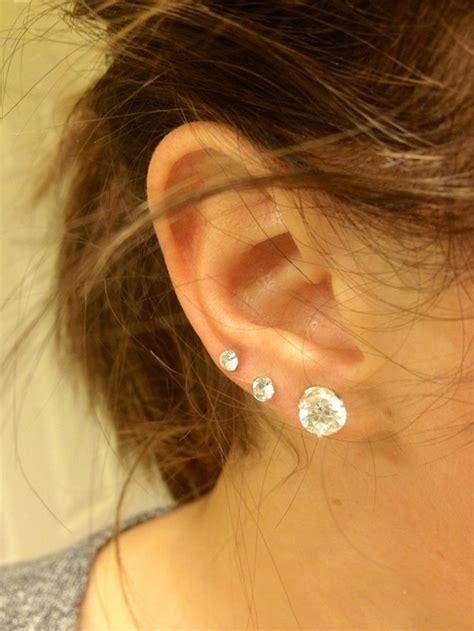 Wife Pierced Ears | wifes ears triple pierced hairstylegalleries com