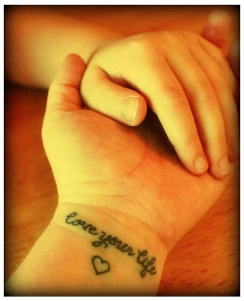 one love wrist tattoos live laugh tattoos designs ideas and meaning
