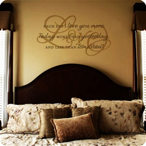 bedroom written in each day i you more