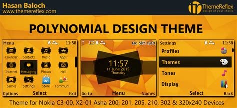rasta themes for nokia asha 201 polynomial design theme for nokia c3 00 x2 01 asha 200