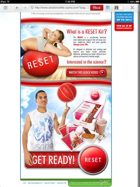 Usana Detox Plan by 97 Best Healthy Weight Loss Usana Reset Images On