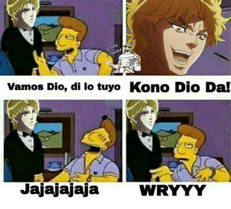 Dio Meme - 25 best memes about kono kono memes