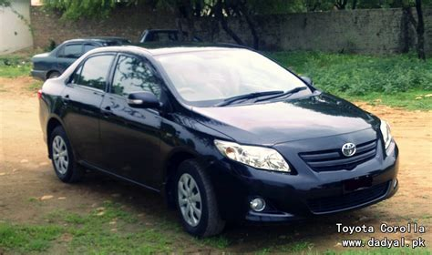 Toyota Pakistan Toyota Corolla Pakistan New Shape Dadyal