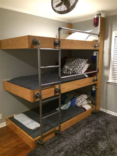 Three Bed Bunk Bed 25 Best Ideas About Bunk Bed On Pinterest Bunk Beds For