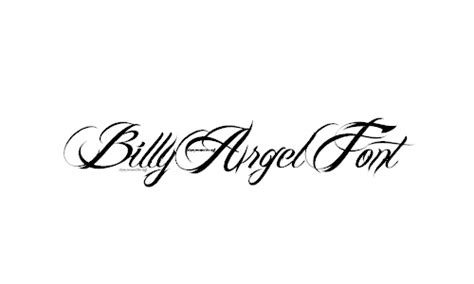 tattoo fonts billy argel ultimate collection of cursive fonts colorlap