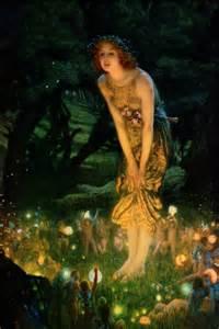 Midsummer eve c 1908 canvas art by edward robert hughes icanvas