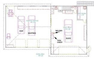 Garage Workshop Floor Plans by Dream Garage
