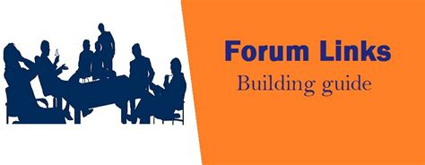 Make Money Online Forum List - forum links building complete guide