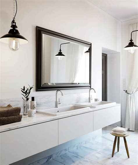 bathroom hanging lights maison marigold interior elegance carrara
